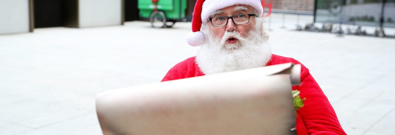 Santa visits GPO Witness History