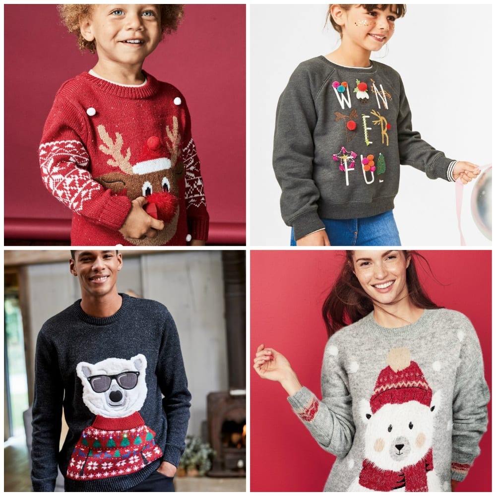 8c76d755e316 ... Jumper (€17.50-€18.50); while for the adults choose from many different  styles and colours like the Womens Grey Polar Bear Christmas Sweater (€29)  or ...