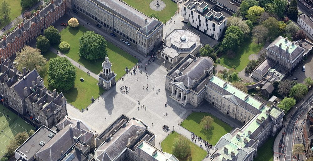 Dublin From The Air – An Aerial Photography Book by Dennis Horgan