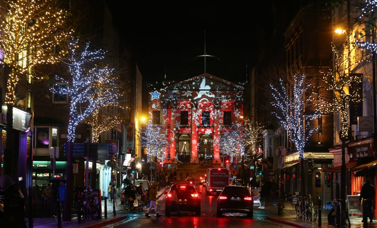 Dublin City Council unveil Winter Lights - DublinTown
