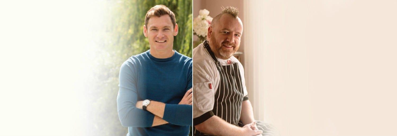 Gary O'Hanlon & David Gillick Collaboration Dinner at Arnotts