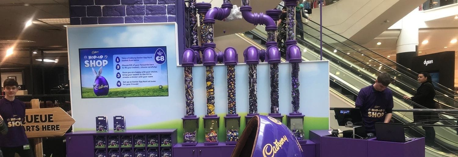 Easter Fun at the Cadbury Hop-Up Shop in Arnotts