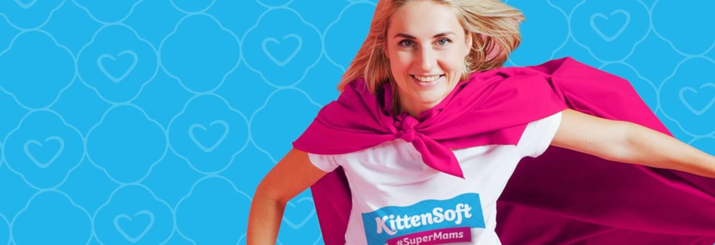 KittenSoft #SuperMams Challenge Pop-Up Shop at Duke Street